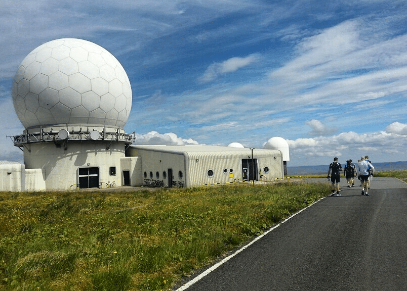 SSVCC, Great Dunn Fell, South Shields Velo Cycling ClubDun Fell, Tyne & Wear, Radar Station